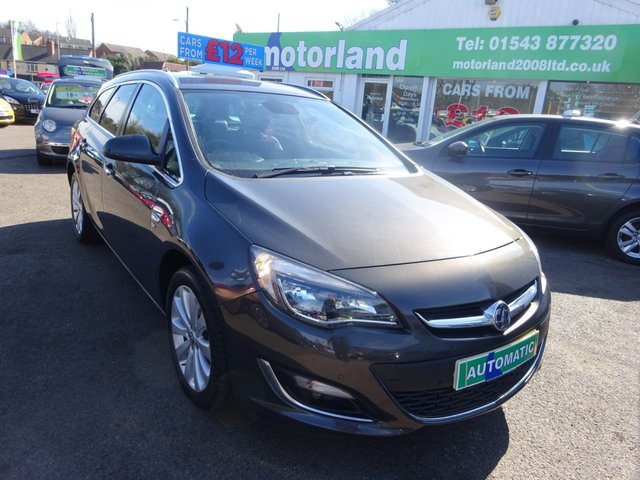 USED 2012 62 VAUXHALL ASTRA 1.6 SE 5d 115 BHP **FULL SERVICE HISTORY..PETROL ..ESTATE..AUTOMATIC