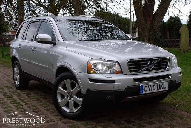 2010 10 VOLVO XC90 2.4 D5 ACTIVE AWD GEARTRONIC [AUTO] 7 SEATER [185 BHP]