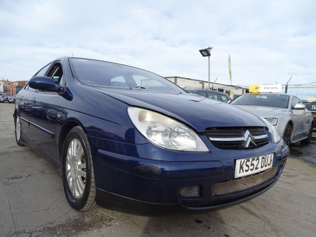 USED 2003 52 CITROEN C5 2.0 VTR HDI 5d 110 BHP PX TO CLEAR