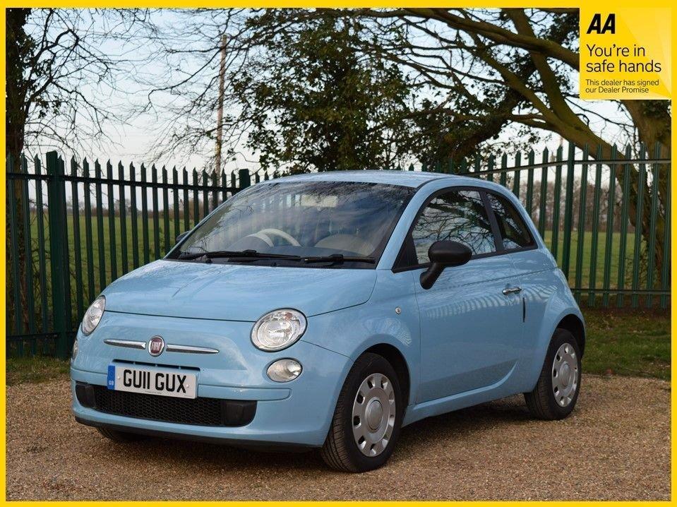 USED 2011 11 FIAT 500 0.9 POP 3d 85 BHP