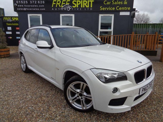 USED 2012 12 BMW X1 2.0 18d M Sport xDrive 5dr Heated Leather, Bluetooth