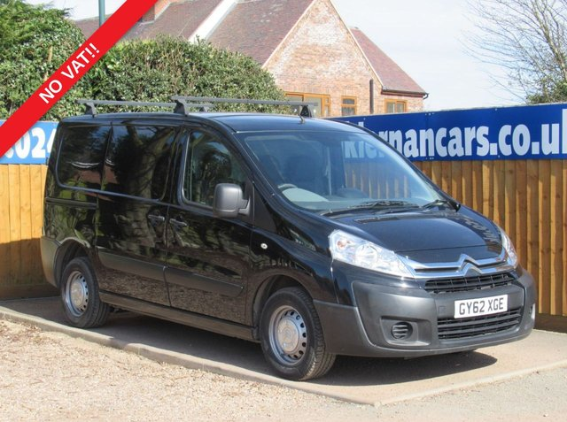 USED 2013 62 CITROEN DISPATCH 1.6 1000 L1H1 ENTERPRISE HDI 89 BHP NO VAT!, BLUETOOTH, AUX/USB