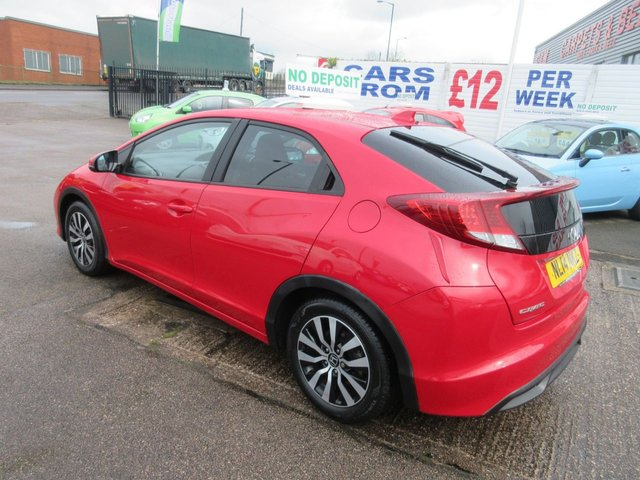 USED 2014 14 HONDA CIVIC 1.6 I-DTEC S 5d 118 BHP ***JUST ARRIVED...TEST DRIVE TODAY***NO DEPOSIT DEALS