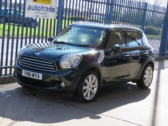 USED 2011 61 MINI COUNTRYMAN 1.6 COOPER D ALL4 5dr 112 1/2 Leather Bluetooth Park sensors