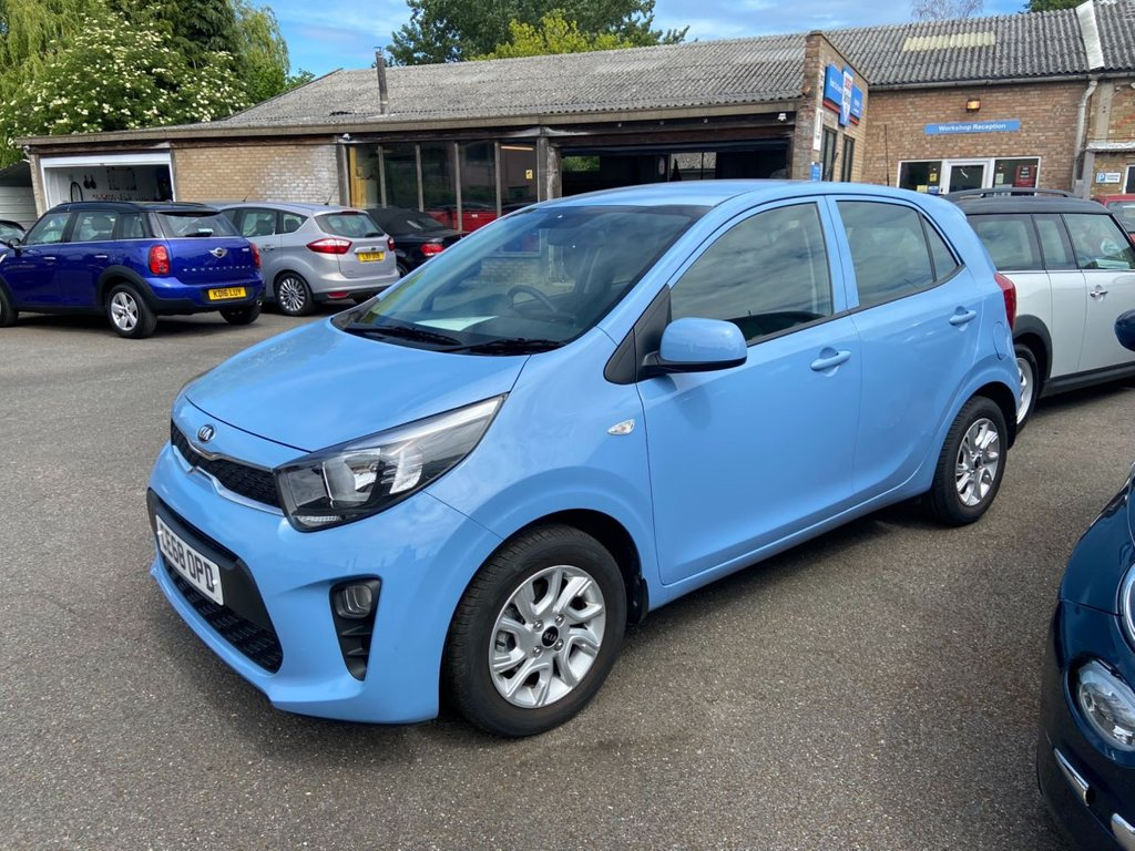 USED 2018 68 KIA PICANTO 1.0 2 5d 66 BHP BALANCE OF 7 YEAR MANUFACTURERS WARRANTY