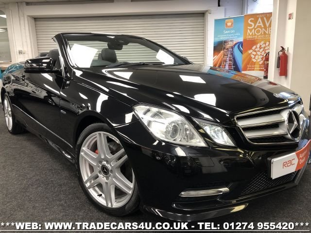 2011 B MERCEDES-BENZ E-CLASS 3.0 E350 CDI BLUEEFFICIENCY SPORT ED125 2d 265 BHP