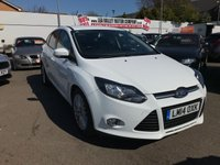 USED 2014 14 FORD FOCUS 1.0 ZETEC 5d 99 BHP RAC APPROVED!!!