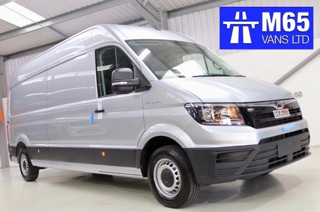 USED 2020 MAN TGE 140PS SILVER LWB LONG WHEELBASE CRUISE CONTROL - AIR CON - 140