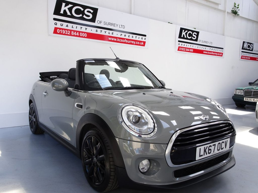 USED 2017 67 MINI CONVERTIBLE 1.5 COOPER 2dr CHILI PACK- NAVIGATION- CAMERA
