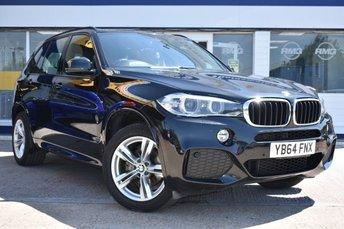 2014 BMW X5 3.0 XDRIVE30D M SPORT 5d 255 BHP £24999.00