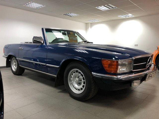 1985 B MERCEDES-BENZ SL 5.0 500 SL 2d 231 BHP