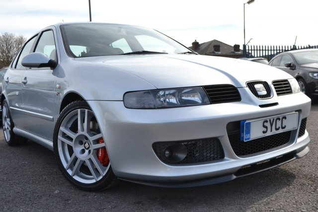 USED 2005 55 SEAT LEON 1.8 CUPRA R 20V 5d 225 BHP RARE CAR 1 OWNER FROM BRAND NEW