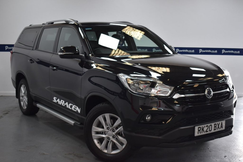 USED 2020 20 SSANGYONG MUSSO SARACEN  AUTO 180 BHP (DEMONSTATOR - £500 CASHBACK)
