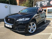USED 2017 67 JAGUAR F-PACE 2.0 PORTFOLIO AWD 5d 178 BHP GREAT SPEC, 1 OWNER !!