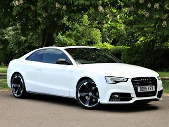 2015 AUDI A5 2.0 TDI QUATTRO BLACK EDITION PLUS 2d 174 BHP £14950.00