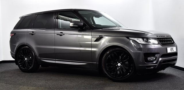 "USED 2016 66 LAND ROVER RANGE ROVER SPORT 3.0 SD V6 HSE CommandShift 2 4X4 (s/s) 5dr Pan Roof, Black Pack, 21""s ++"