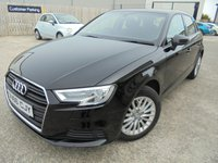 USED 2017 66 AUDI A3 1.6 TDI SE TECHNIK 5d 109 BHP Low Rate Finance Available, Excellent Condition, No Deposit, No Fee Finance