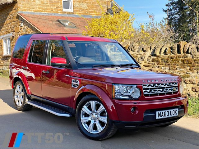 2013 63 LAND ROVER DISCOVERY 3.0 4 SDV6 HSE 5d 255 BHP