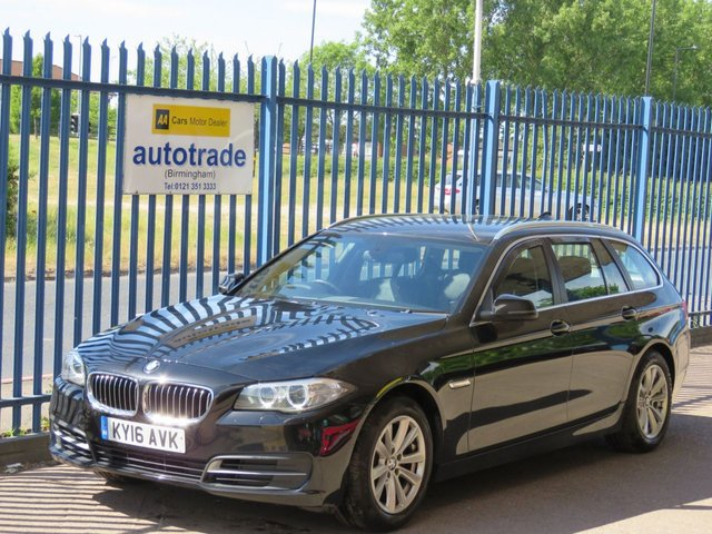 USED 2016 16 BMW 5 SERIES 2.0 520D SE 4d 188 BHP ULEZ COMPLIANT SAT NAV PARKING SENSORS FULL LEATHER SENSORS SAT NAV, AUTOMATIC, FRONT AND REAR PARKING SENSORS, DAB AND AUDIO STREAMING,