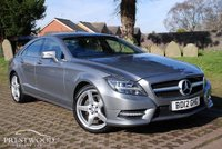 USED 2012 12 MERCEDES-BENZ CLS-CLASS CLS350 3.0 CDI BLUEEFFICIENCY SPORT AMG TIP AUTO [265 BHP] 4 DOOR COUPE