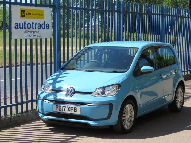 USED 2017 17 VOLKSWAGEN UP 1.0 MOVE UP 5dr  ULEZ Compliant Air con Alloys