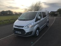 2017 FORD TRANSIT CUSTOM 2.0 T310 LIMITED LWB LOW ROOF 6 SEAT DOUBLE CAB VAN 130 BHP  £14995.00