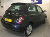 USED 2008 58 NISSAN MICRA 1.2 ACENTA 5d 80 BHP Very Clean And Tidy Nissan Micra 1.2 Acenta 5 Door Finished In Nero Black With Anthracite Cloth, With Only 82,500 Miles On It Has Really Only Covered A Bit Less Than 7,000 Miles A Year With 1 Local Lady Owner, Decent Service History And Has Just Been Serviced And MOT'd Through Till March 2021, A Great Little Town Car With A Solid Reputation for Reliability And Overall Low Running Costs That Will Suit A Wide Range Of Customers And Uses, Full Electrics Pack, Air Conditioning And Bluetooth Phone Co