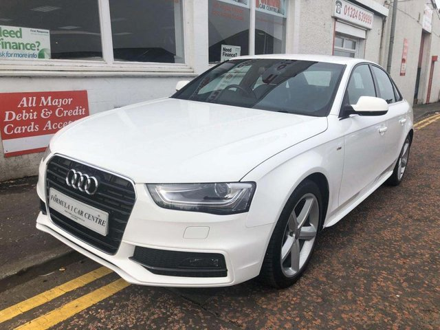 USED 2012 12 AUDI A4 1.8 TFSI S line 4dr