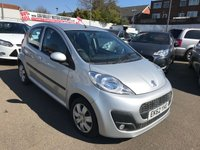 USED 2013 62 PEUGEOT 107 1.0 ACTIVE 5d 68 BHP RAC APPRROVED ONLY 24000 MILES