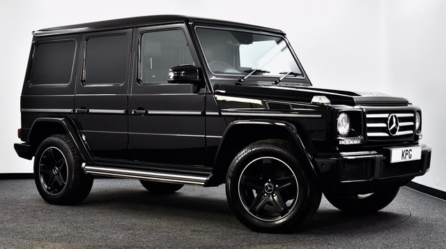 USED 2017 67 MERCEDES-BENZ G-CLASS 3.0 G350 CDi Night Edition G-Tronic 4WD (s/s) 5dr £90k New, F/M/S/H, Stunning ++