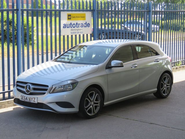 USED 2015 64 MERCEDES-BENZ A-CLASS 1.5 A180 CDI BLUEEFFICIENCY SPORT 5d 109 BHP Sat Nav SAT NAV, CRUISE CONTROL, SPORT SEATS, LOW TAX,