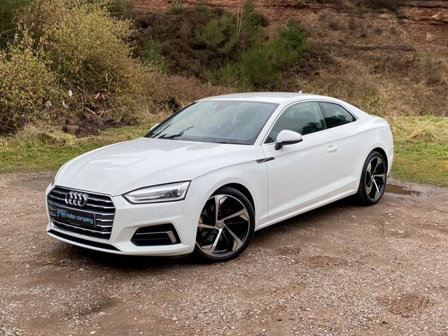 """USED 2017 66 AUDI A5 2.0 TDI ULTRA SPORT 2d 188 BHP 19"""" RS5 ALLOYS AT EXTRA COST"""