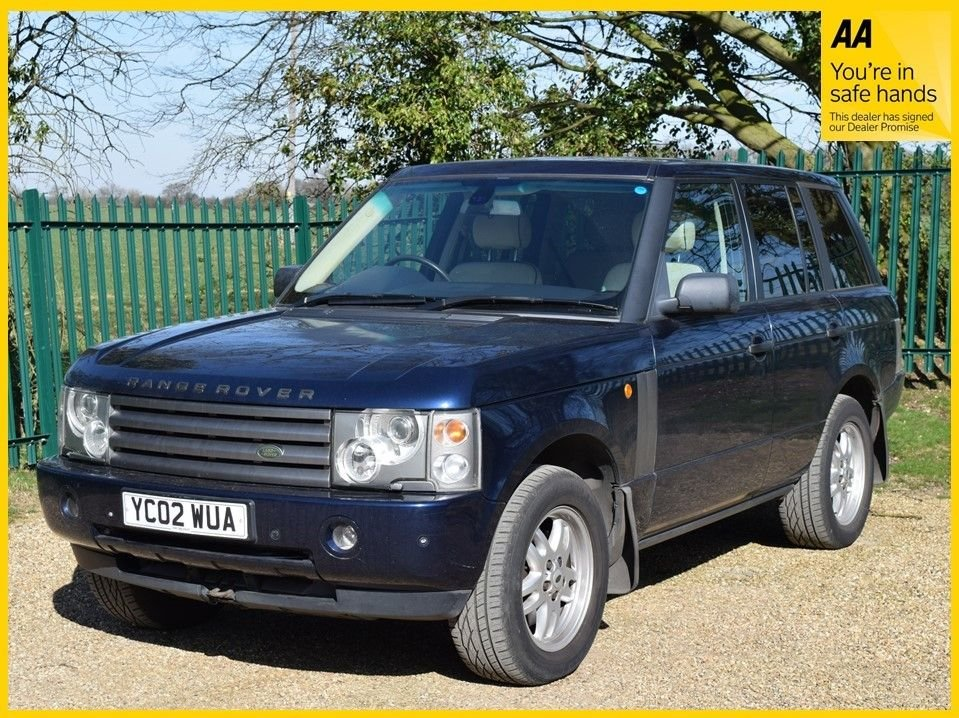USED 2002 02 LAND ROVER RANGE ROVER 2.9 TD6 HSE 5d 175 BHP