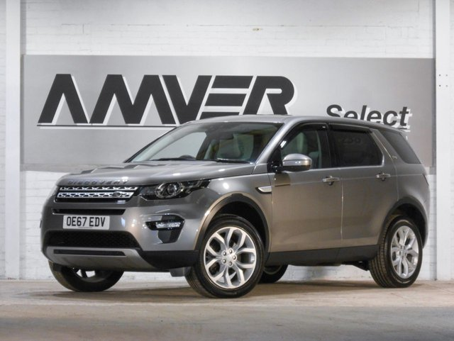 2017 67 LAND ROVER DISCOVERY SPORT 2.0 TD4 HSE 5d 180 BHP
