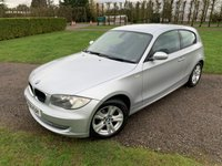 USED 2008 08 BMW 1 SERIES 1.6 116I SE 3d 121 BHP Full BMW History MINT Example Full BMW Main Dealer Service History, 15 BMW Services, Recently Serviced, MOT 02/21, Front And Rear Parking Sensors, X2 Keys, Stop Start, X2 Keys, Full Carpet Mat Set, Unmarked Alloys, X4 Recent Goodyear Runflat Tyres, X4 Elec Windows, Elec Mirrors, Cd/Stereo/Aux/USB In Sockets, Auto Lights On, Auto Wipers, Dimming Mirror, Extremely Straight + Clean And Tidy Example, Looks And Drives Absolutely Spot On, You Will Not Be Dissapointed!!
