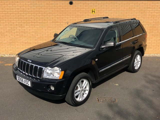2006 56 JEEP GRAND CHEROKEE 3.0 V6 // CRD LIMITED // 5d // 215 BHP // Px swap