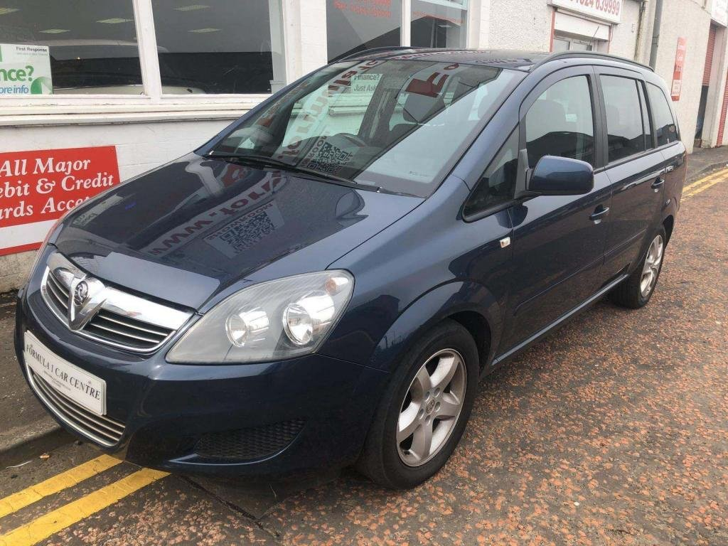 USED 2012 12 VAUXHALL ZAFIRA 1.7 TD Exclusiv 5dr DIESEL,PRIVACY GLASS
