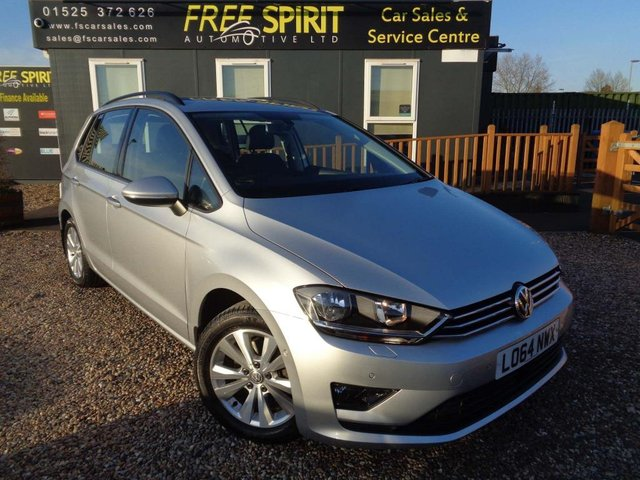 USED 2014 64 VOLKSWAGEN GOLF SV 1.4 TSI BlueMotion Tech SE (s/s) 5dr Leather, Recent Cambelt at VW