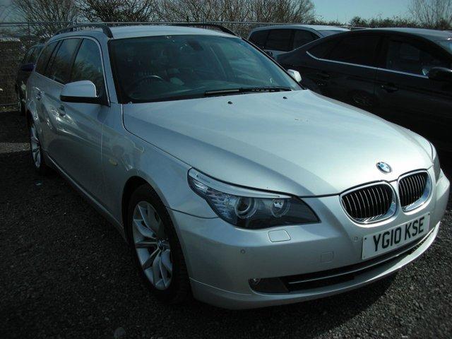 2010 10 BMW 5 SERIES 3.0 525D SE TOURING 5d 195 BHP