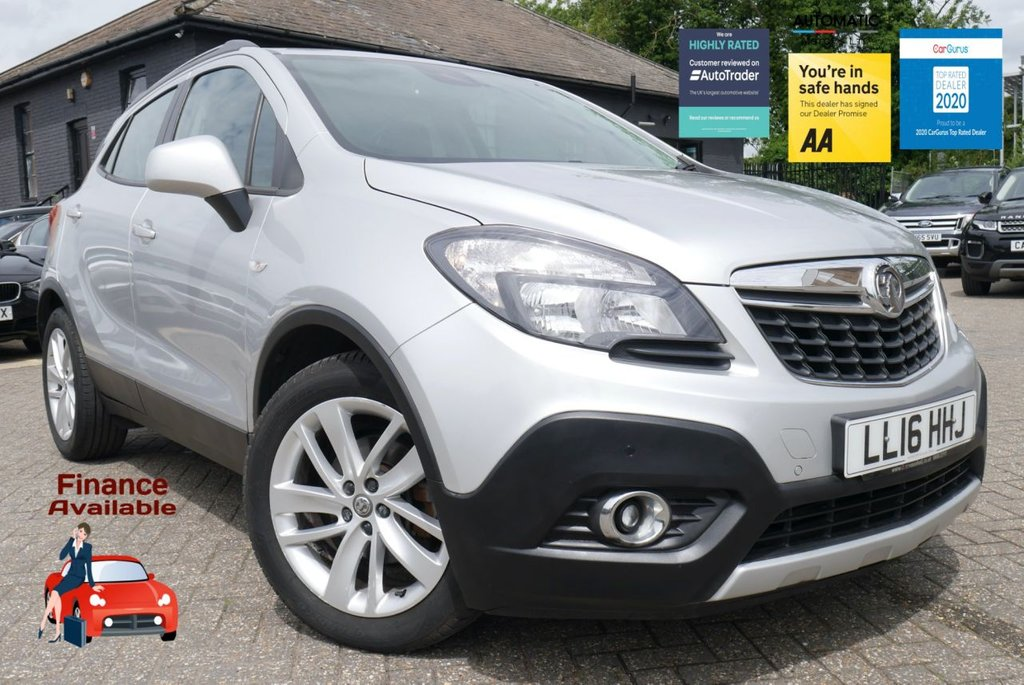 USED 2016 VAUXHALL MOKKA EXCLUSIVE AUTOMATIC BLUETOOTH FINANCE ME TODAY - 2016 (16 plate) AUTOMATIC FINANCE ME TODAY