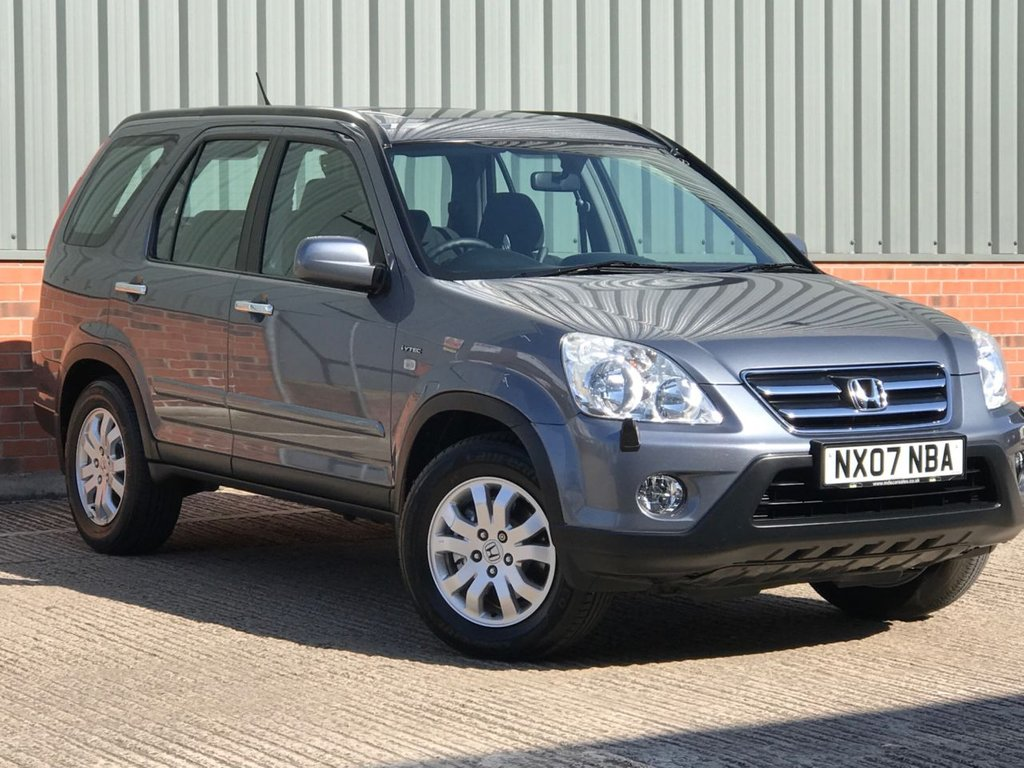 USED 2007 07 HONDA CR-V 2.0 I-VTEC SPORT 5d 148 BHP EXCELLENT ONE OWNER LOW MILEAGE EXAMPLE