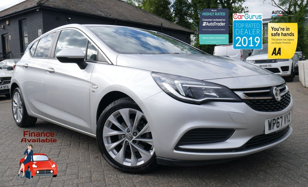 USED 2017 67 VAUXHALL ASTRA 1.4 SE 5d 148 BHP BLUETOOTH FINANCE ME TODAY