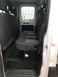 USED 2018 18 FORD TRANSIT 350 130PS L3 H2 FACTORY DOUBLE CAB TIPPER