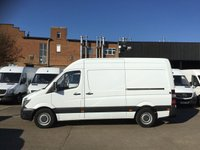 USED 2016 16 MERCEDES-BENZ SPRINTER 2.1 313CDI MWB HIGH ROOF 130BHP. 1 OWNER. LOW 75K MLS. PX 1 OWNER. LOW 75K MILES. FINANCE. CHOICE OF VANS. PX