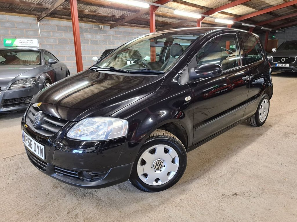 USED 2007 56 VOLKSWAGEN FOX 1.4 URBAN 75 3d 75 BHP +++SUPER LOW MILES+++