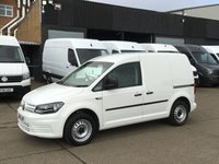USED 2016 16 VOLKSWAGEN CADDY 2.0TDI C20 SWB STARTLINE 102BHP. AIRCON. ELEC PACK. FACELIFT. PX AIRCON. COLOUR CODED. ELEC PACK. FINANCE. LOW MILS. PX