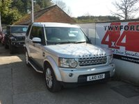 USED 2010 10 LAND ROVER DISCOVERY 4 3.0 TDV6 HSE 5dr AUTO 245 BHP 2010 MODEL,FULL SERVICE HISTORY,SIDE STEPS