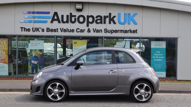USED 2014 64 ABARTH 500 1.4 ABARTH 3d 135 BHP LOW DEPOSIT OR NO DEPOSIT FINANCE AVAILABLE