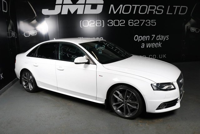 USED 2009 AUDI A4 LATE 2009 AUDI A4 2.0 TDI S LINE BLACK EDITION STYLE 143 BHP (FINANCE AND WARRANTY)