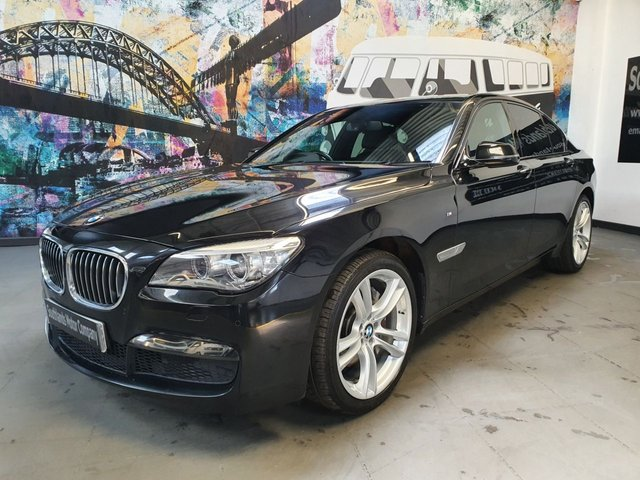 USED 2014 14 BMW 7 SERIES 3.0 730D M SPORT EXCLUSIVE 4d 255 BHP